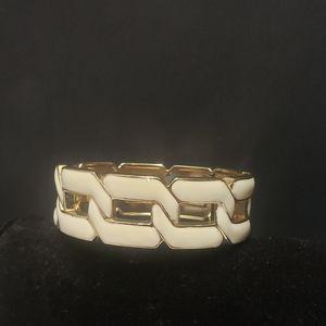 Gorgeous White & Gold Bracelet